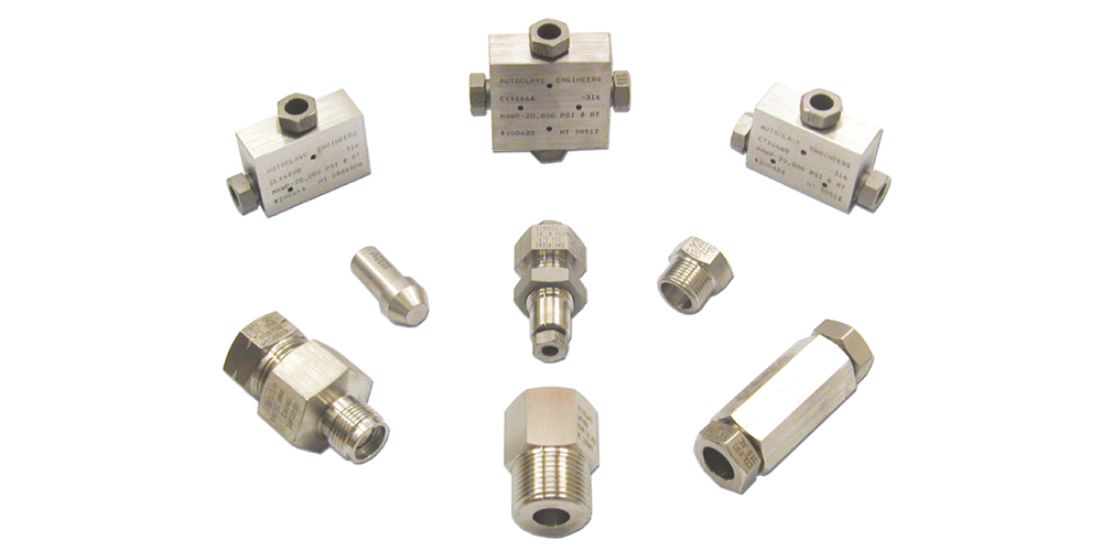 High Pressure Fittings & Adaptors